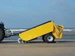 la nettoyeuse de plages tractée Supra maxum.